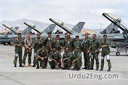 airforce Urdu Meaning