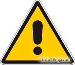 alert Urdu Meaning