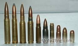 ammunition Urdu Meaning