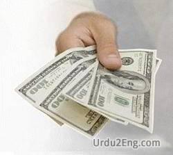 amount Urdu Meaning