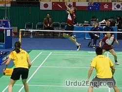 badminton Urdu Meaning