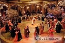 ballroom Urdu Meaning