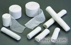 bandage Urdu Meaning