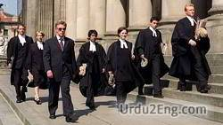 barrister Urdu Meaning