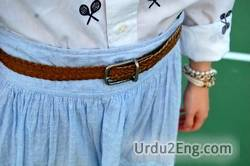 belt Urdu Meaning