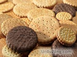 biscuit Urdu Meaning