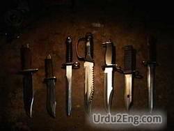 blade Urdu Meaning