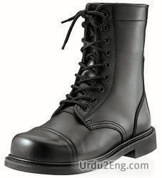 boot Urdu Meaning