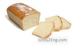 bread Urdu Meaning