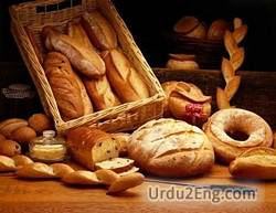 breadstuff Urdu Meaning