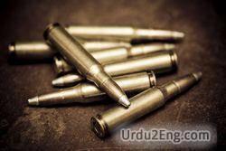 bullet Urdu Meaning
