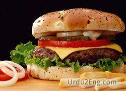 burger Urdu Meaning