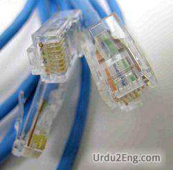 cable Urdu Meaning
