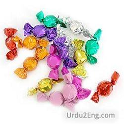 candy Urdu Meaning