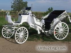 carriage Urdu Meaning