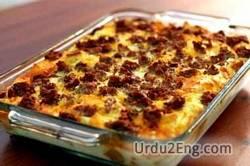 casserole Urdu Meaning