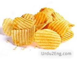 chip Urdu Meaning