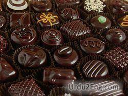 chocolate Urdu Meaning