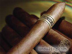 cigar Urdu Meaning
