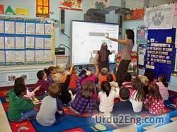 classroom Urdu Meaning