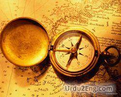 compass Urdu Meaning