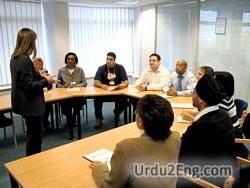 consultant Urdu Meaning