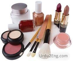 cosmetic Urdu Meaning