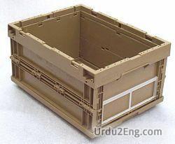 crate Urdu Meaning