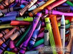 crayon Urdu Meaning