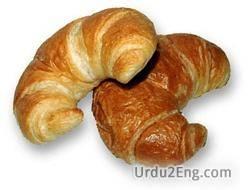 croissant Urdu Meaning