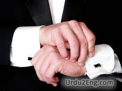 cufflink Urdu Meaning