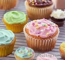 cupcake Urdu Meaning