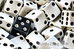 dice Urdu Meaning