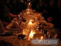 dinner Urdu Meaning