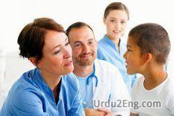 doctor Urdu Meaning