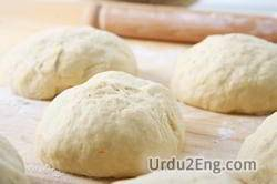 dough Urdu Meaning