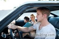 drive Urdu Meaning