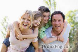 family Urdu Meaning
