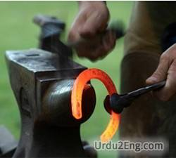 farrier Urdu Meaning