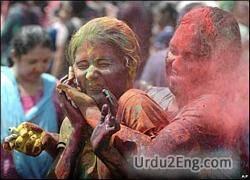 festival Urdu Meaning
