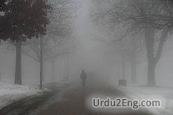 fog Urdu Meaning