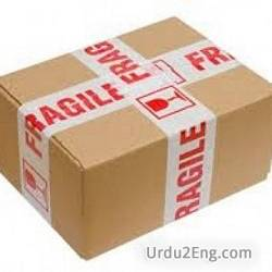 fragile Urdu Meaning