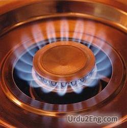 gas Urdu Meaning