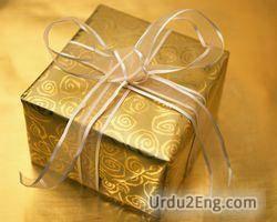 gift Urdu Meaning