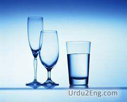 glass Urdu Meaning