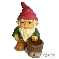 gnome Urdu Meaning