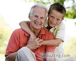 grandpa Urdu Meaning
