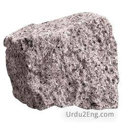 granite Urdu Meaning