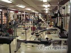 gym Urdu Meaning
