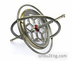 gyroscope Urdu Meaning